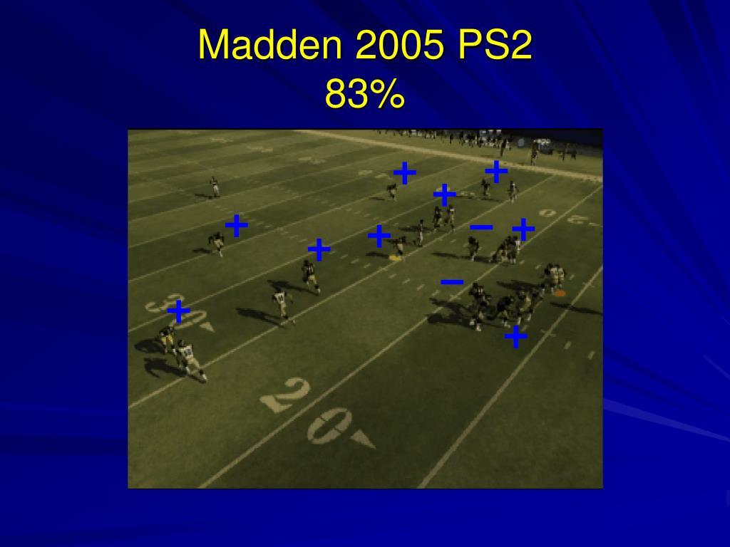 Madden 2005 PS2