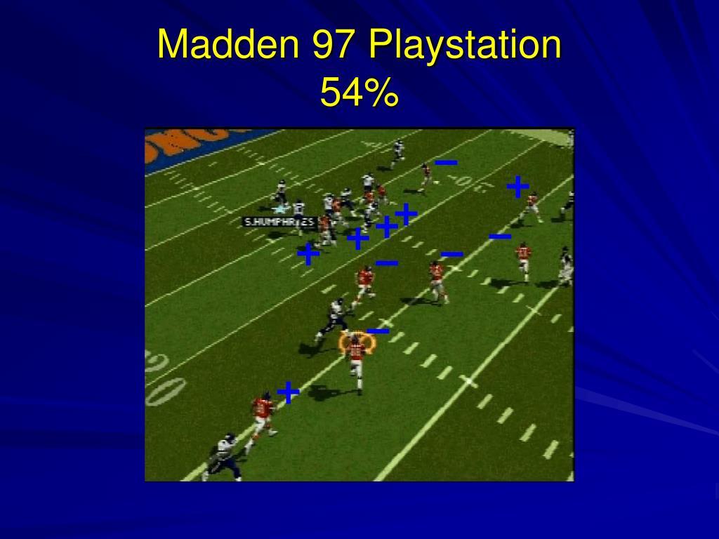 Madden 97 Playstation