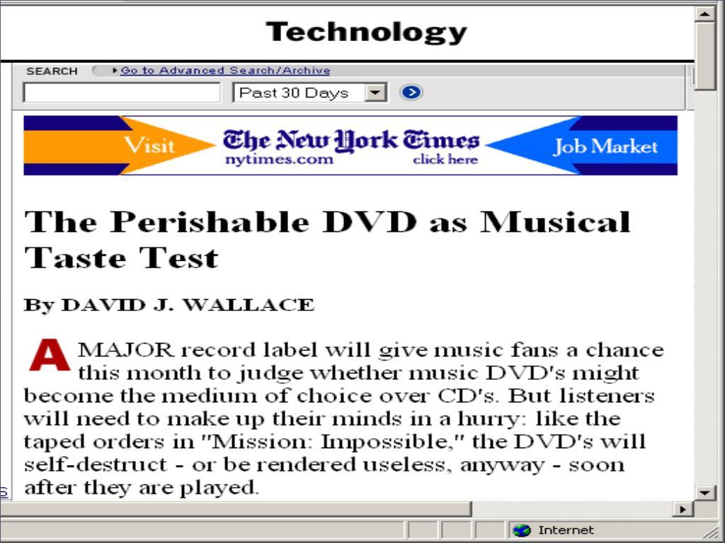 NY TIMES Perishable dvd 0211