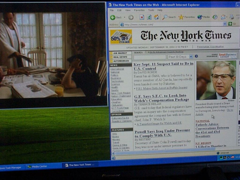 Soprano and NY Times