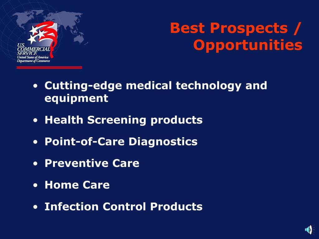 Best Prospects / Opportunities