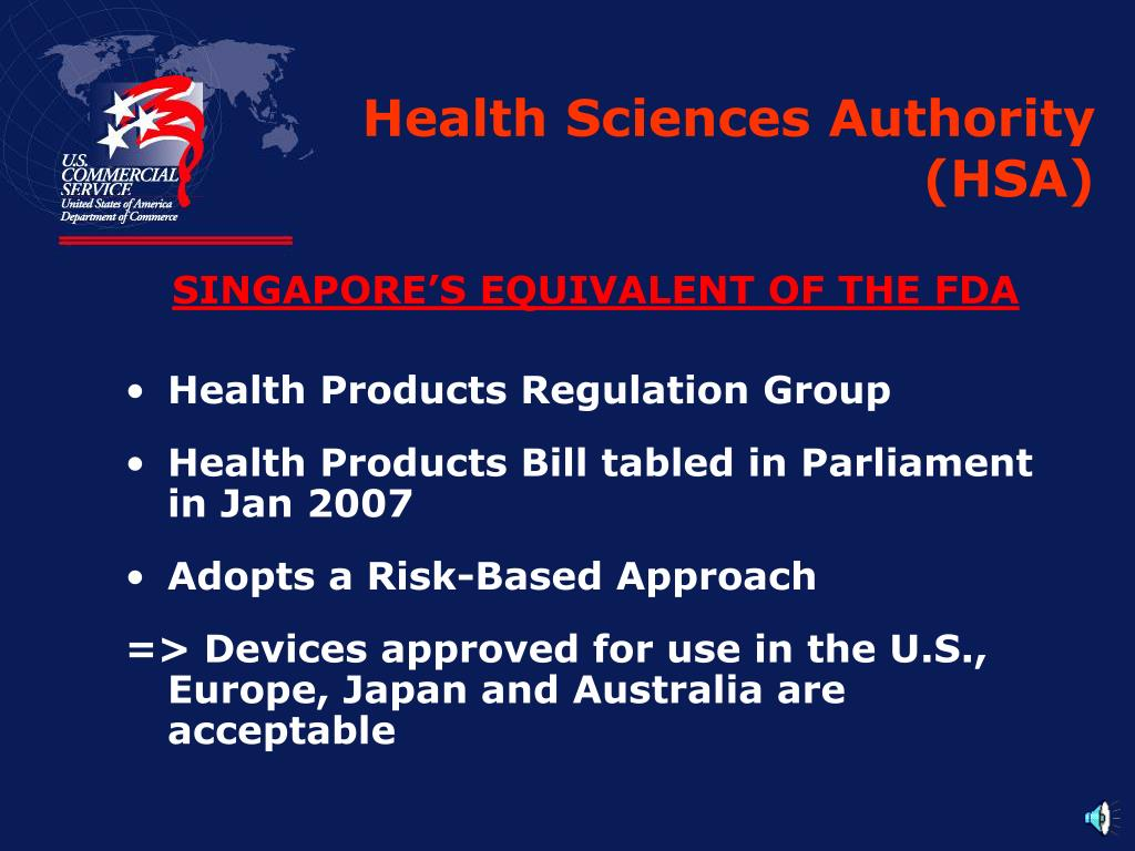 Health Sciences Authority (HSA)