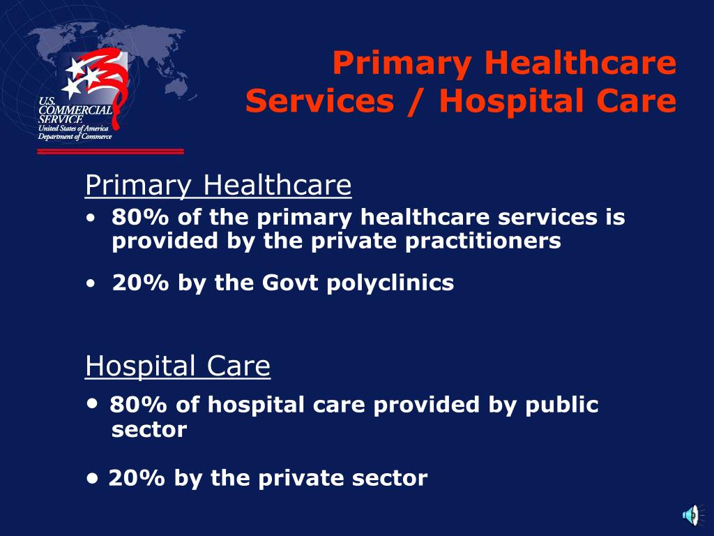 Primary Healthcare Services / Hospital Care