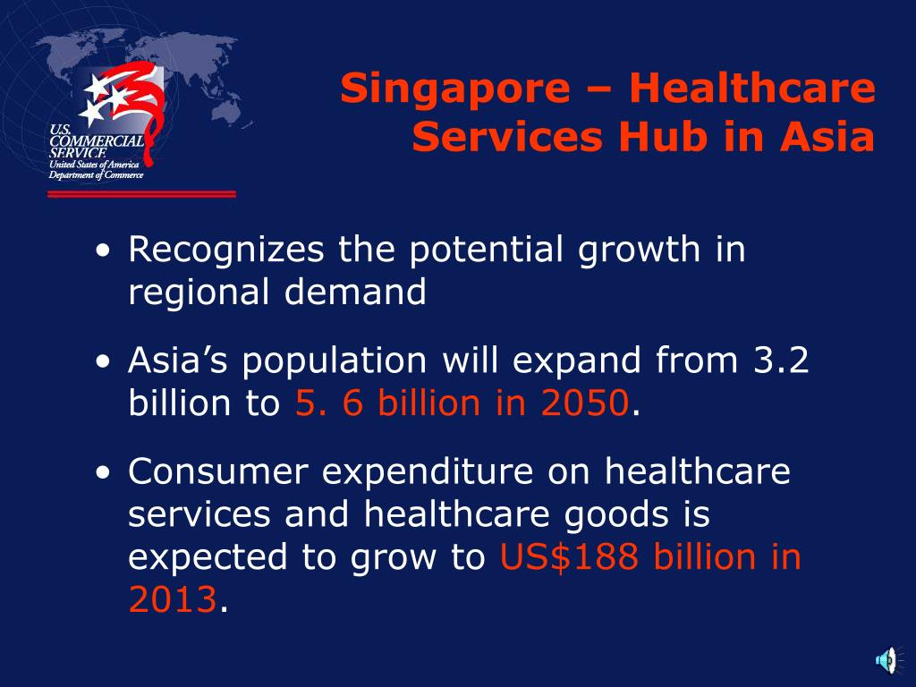 Singapore – Healthcare Services Hub in Asia