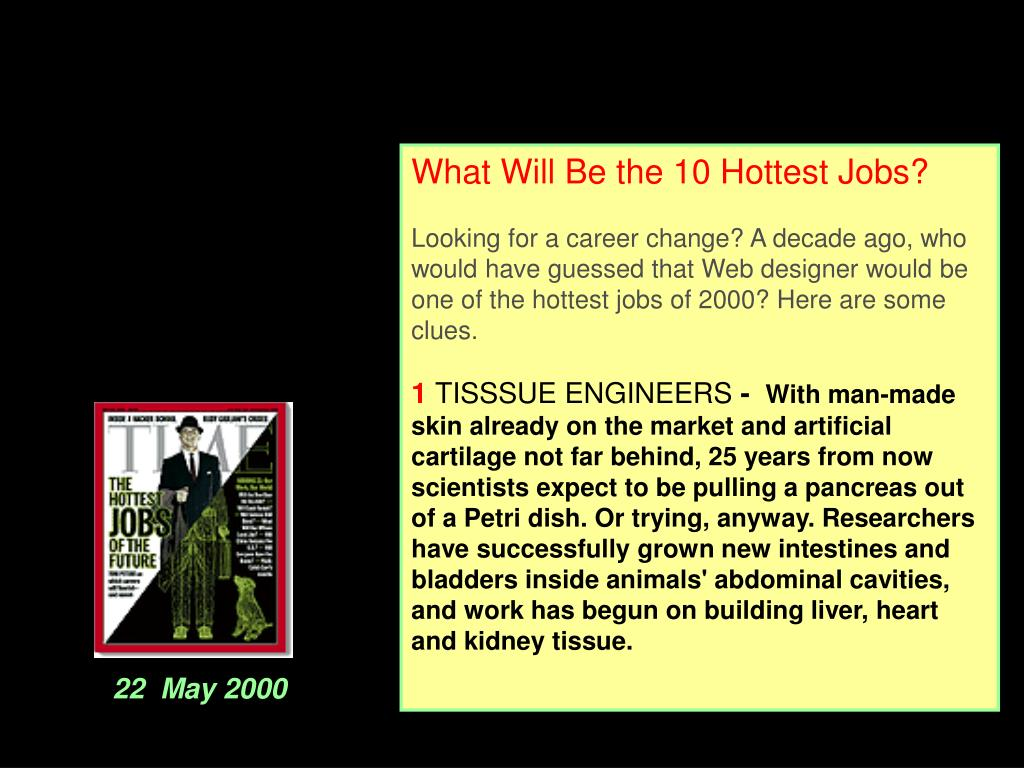 What Will Be the 10 Hottest Jobs?