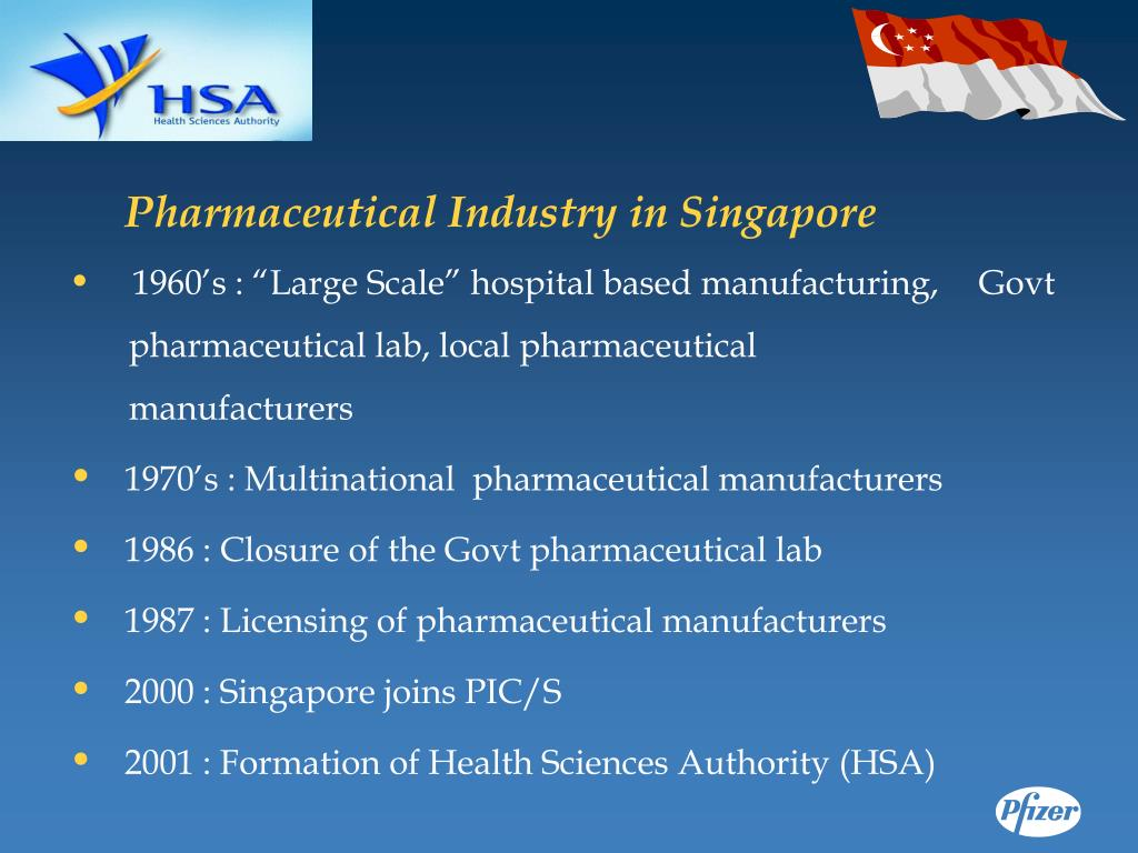 Pharmaceutical Industry in Singapore