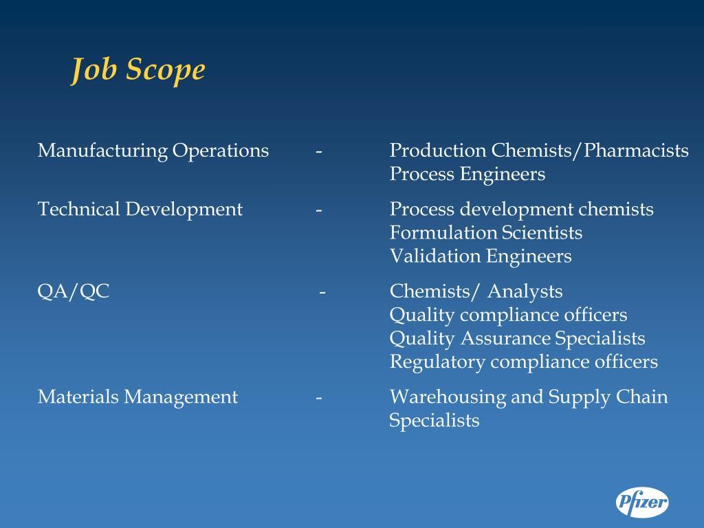Job Scope