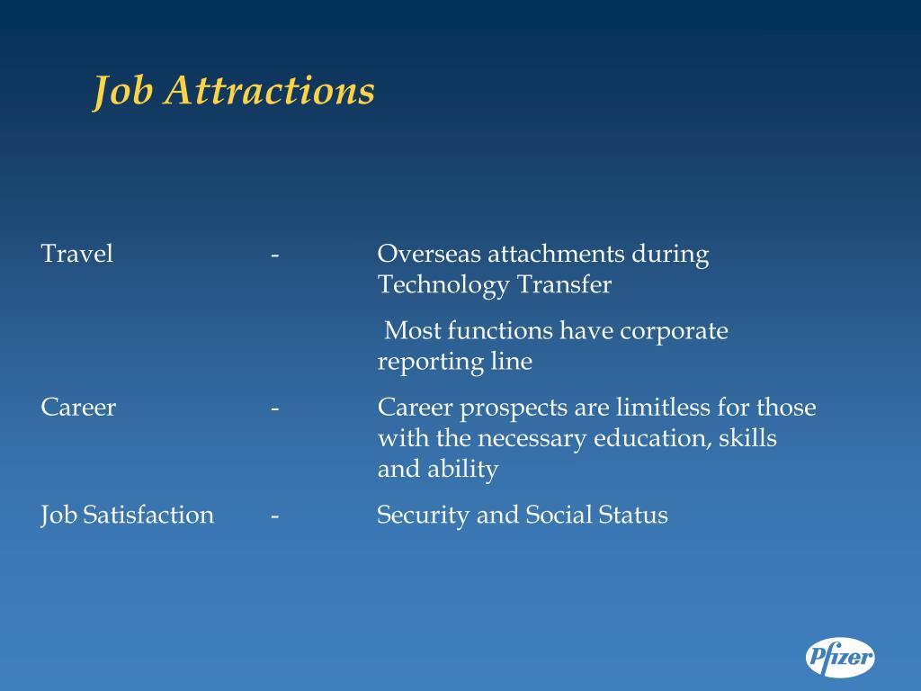 Job Attractions