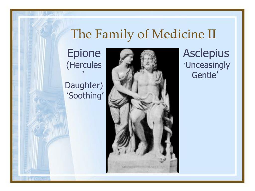The Family of Medicine II
