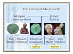 the family of medicine iii