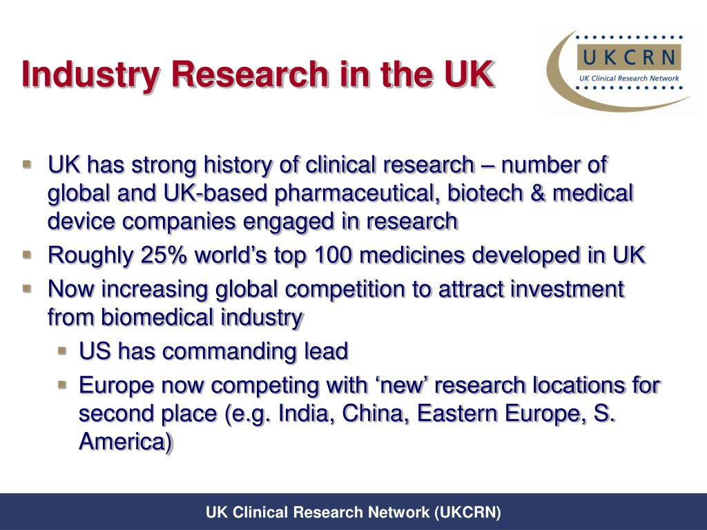 Industry Research in the UK