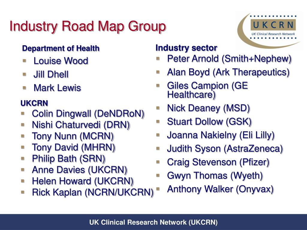Industry Road Map Group