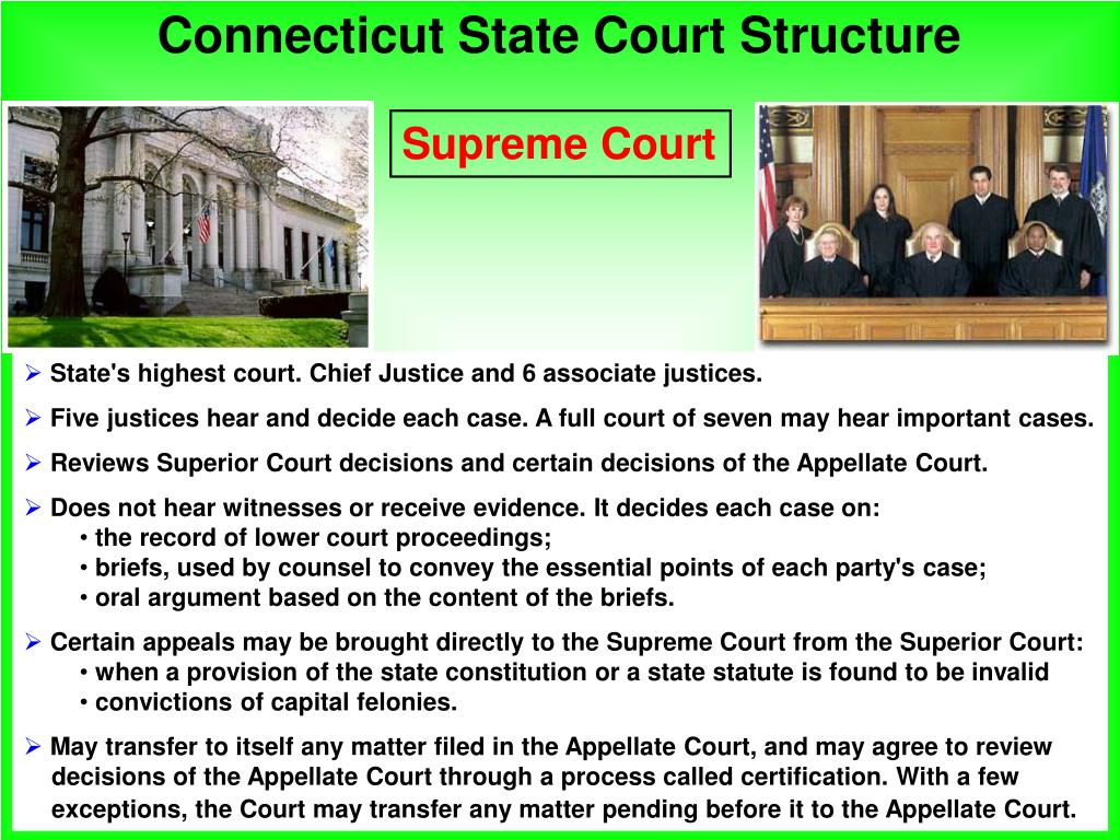 Connecticut State Court Structure