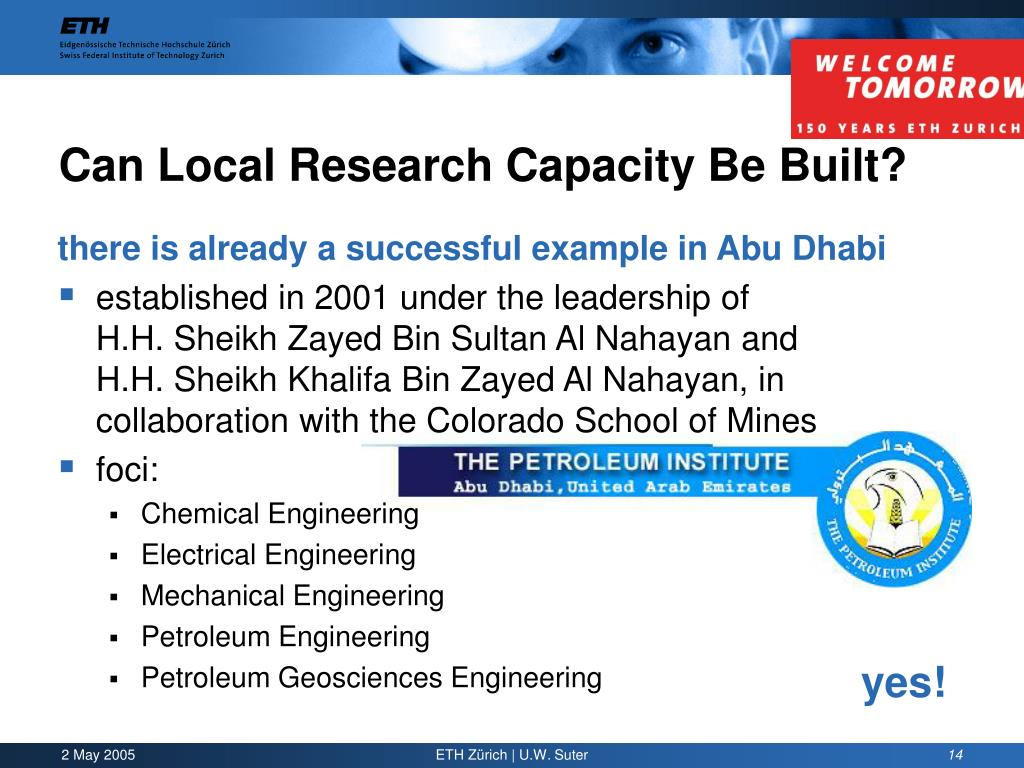 Can Local Research Capacity Be Built?