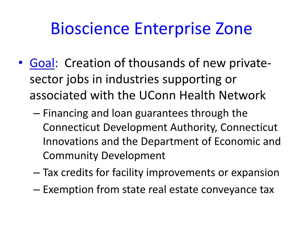 Bioscience Enterprise Zone