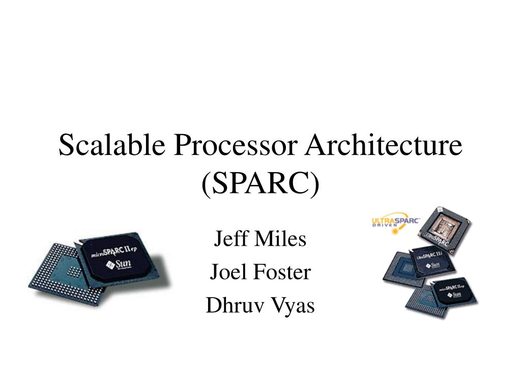 Scalable Processor Architecture