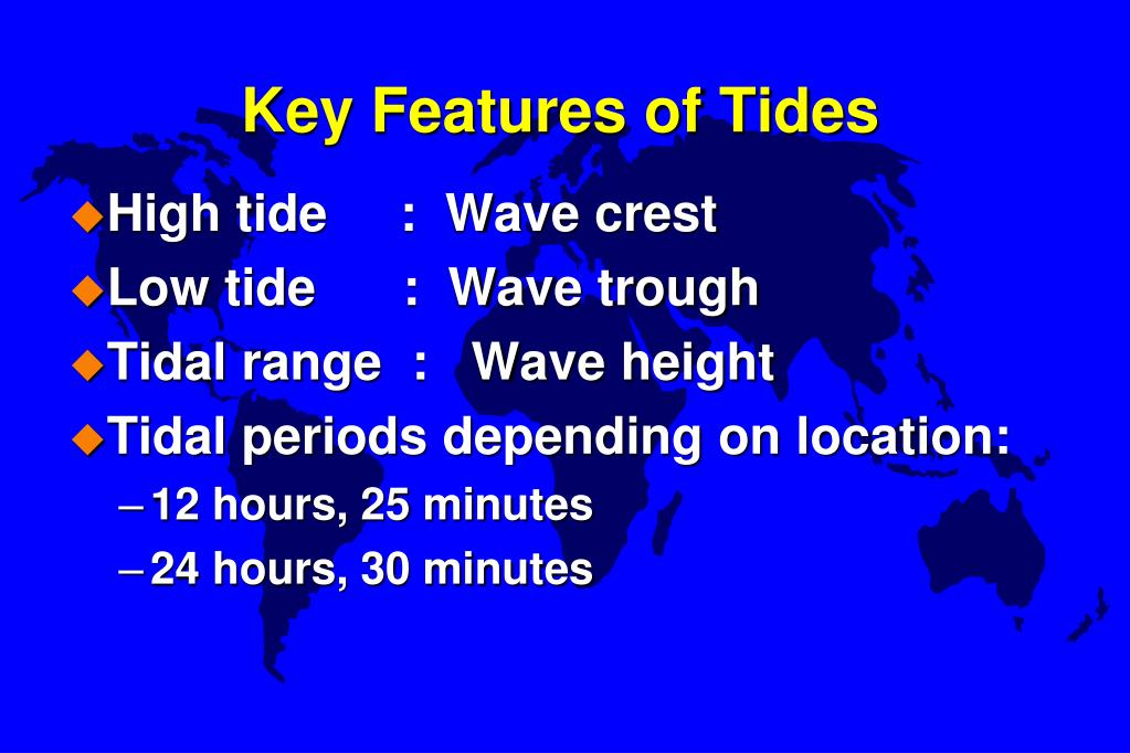Key Features of Tides