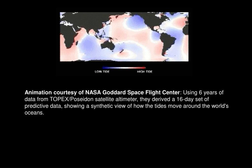 Animation courtesy of NASA Goddard Space Flight Center