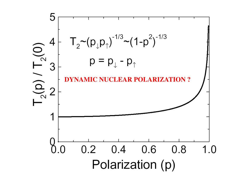 DYNAMIC NUCLEAR POLARIZATION ?
