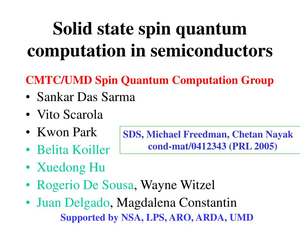 Solid state spin quantum computation in semiconductors