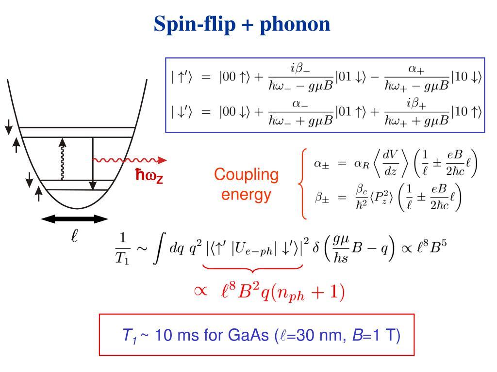 Spin-flip + phonon