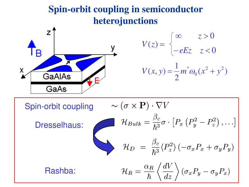 Spin-orbit coupling in semiconductor heterojunctions