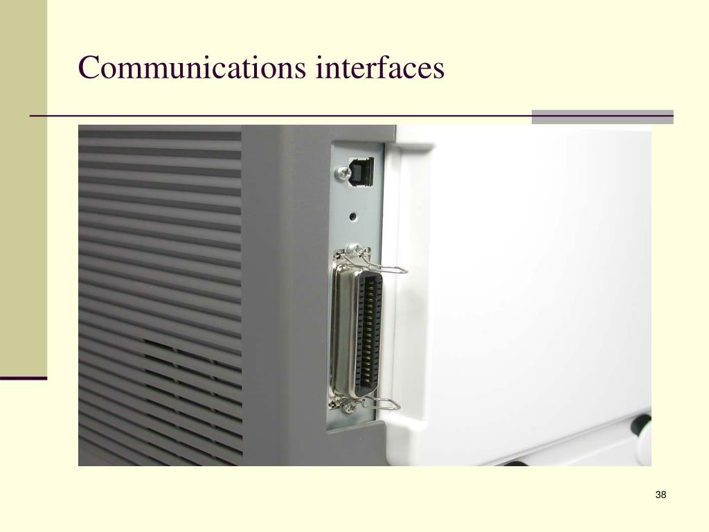 Communications interfaces