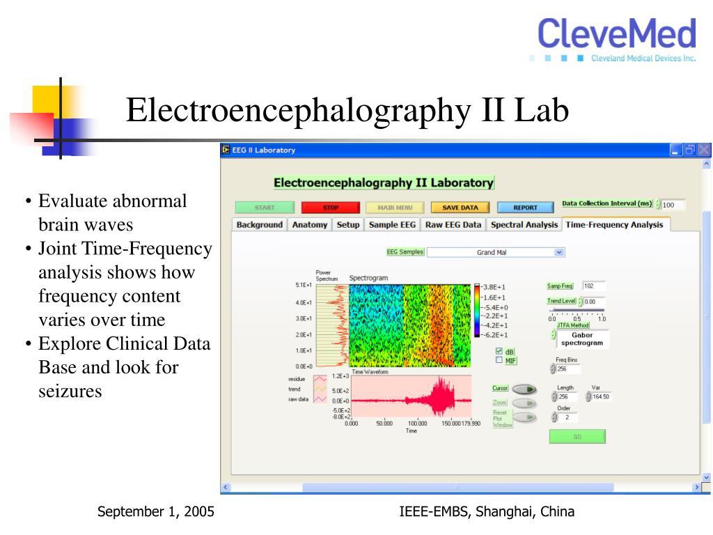 Electroencephalography II Lab