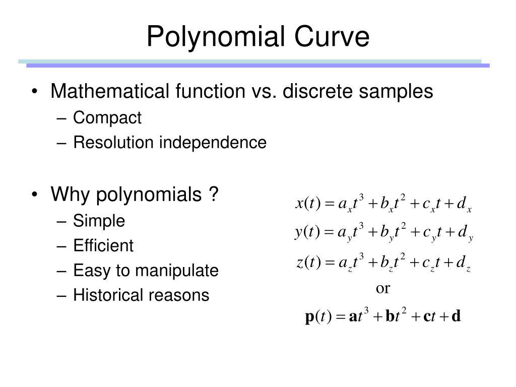 Polynomial Curve