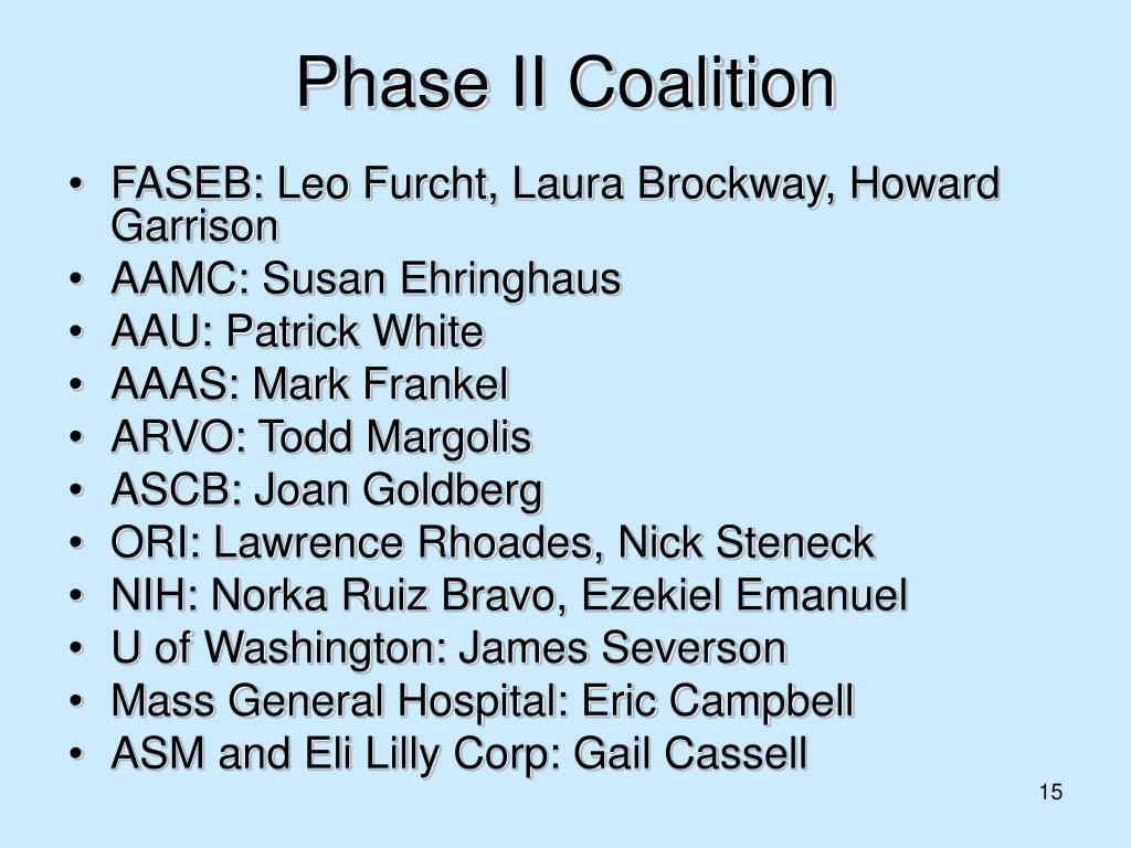 Phase II Coalition