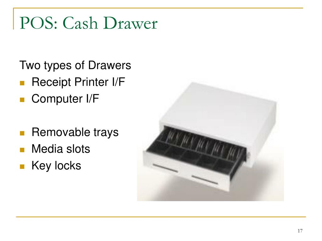 POS: Cash Drawer