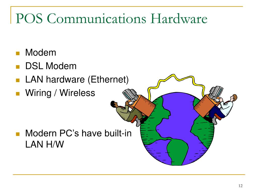 POS Communications Hardware