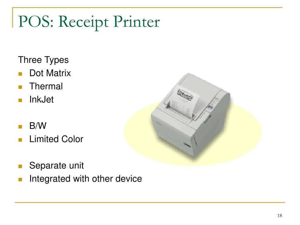 POS: Receipt Printer
