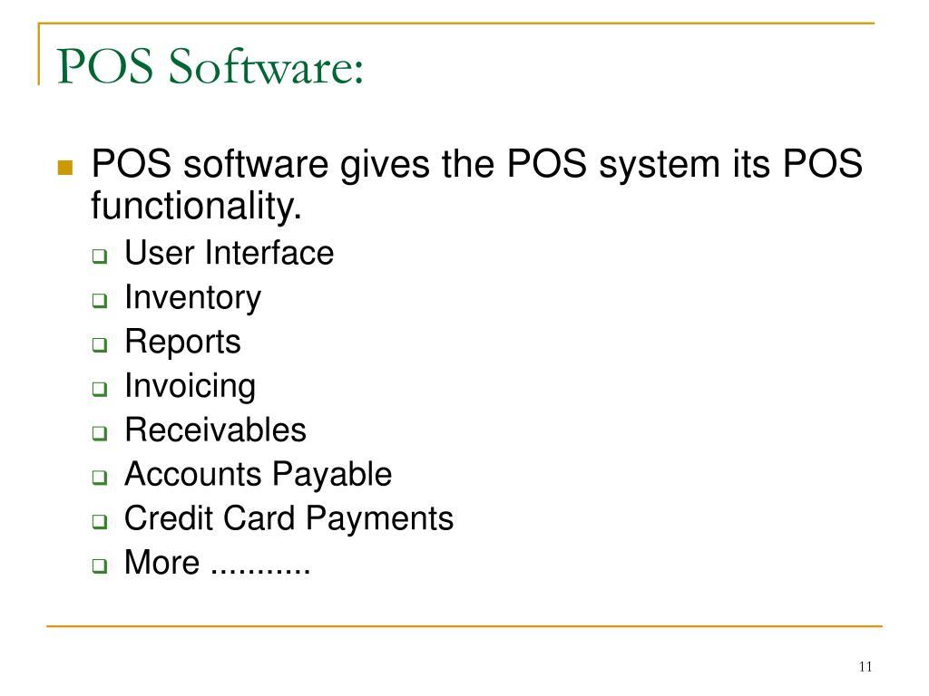 POS Software: