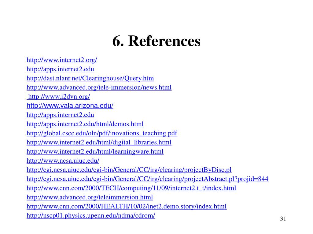 6. References
