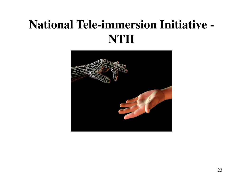 National Tele-immersion Initiative - NTII