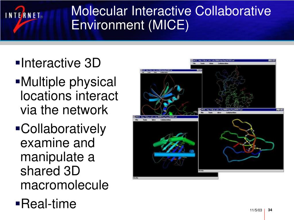 Molecular Interactive Collaborative Environment (MICE)