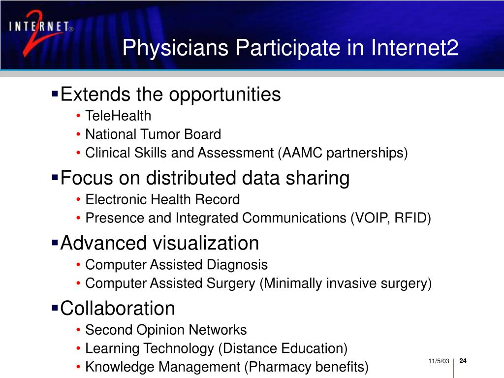 Physicians Participate in Internet2