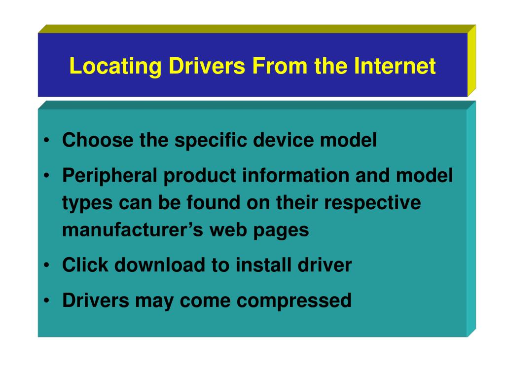 Locating Drivers From the Internet
