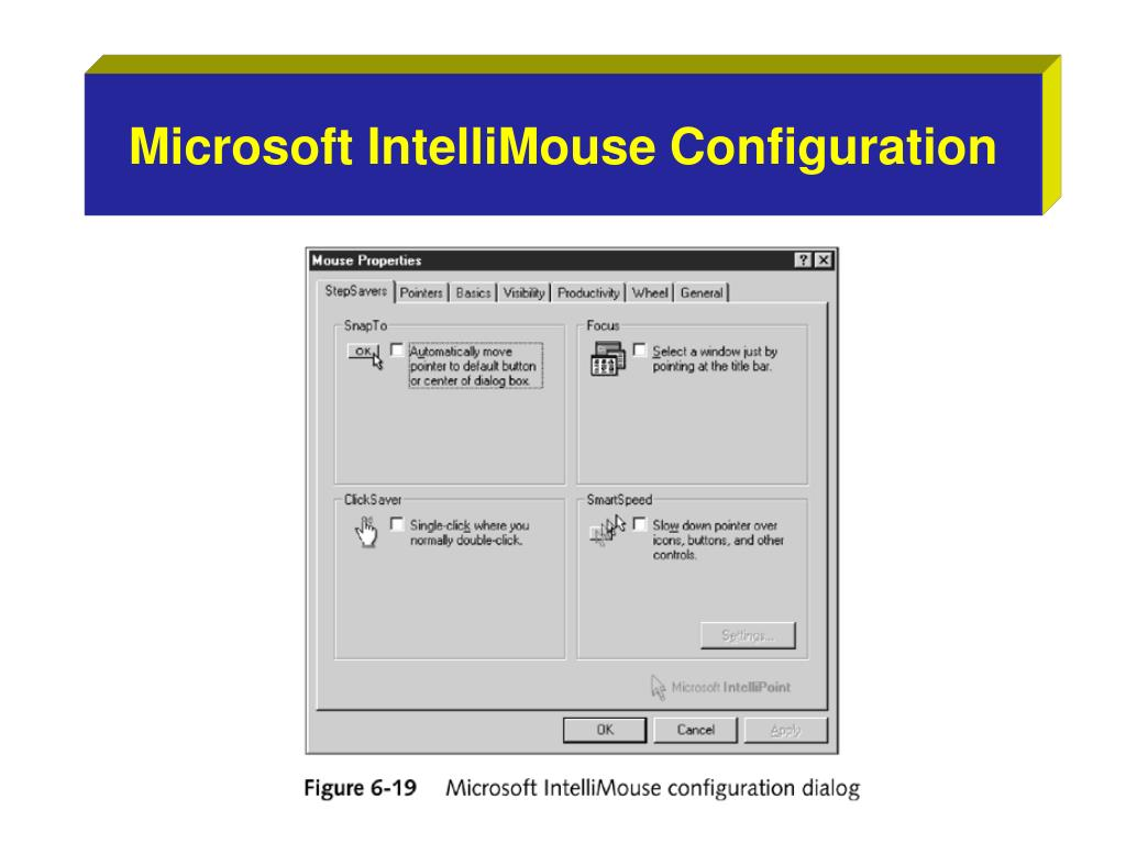 Microsoft IntelliMouse Configuration