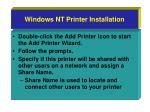 windows nt printer installation24