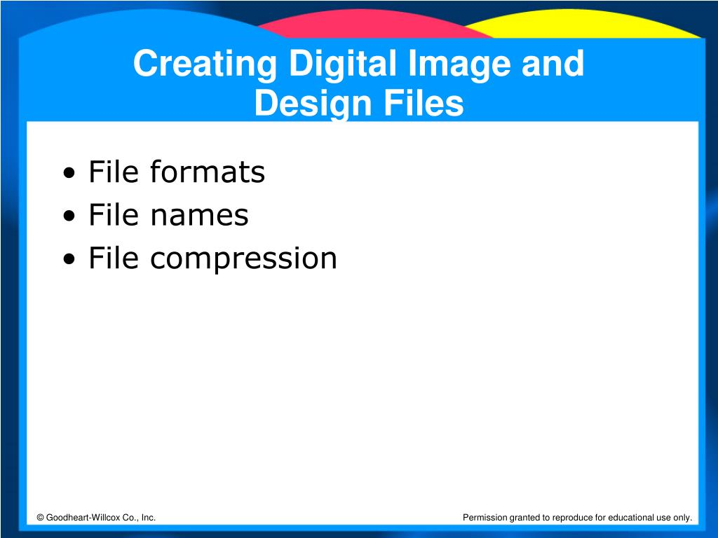 Creating Digital Image and