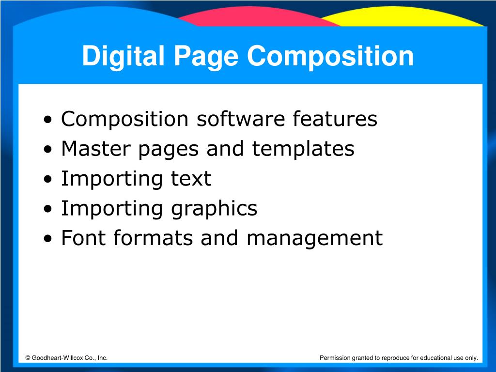 Digital Page Composition