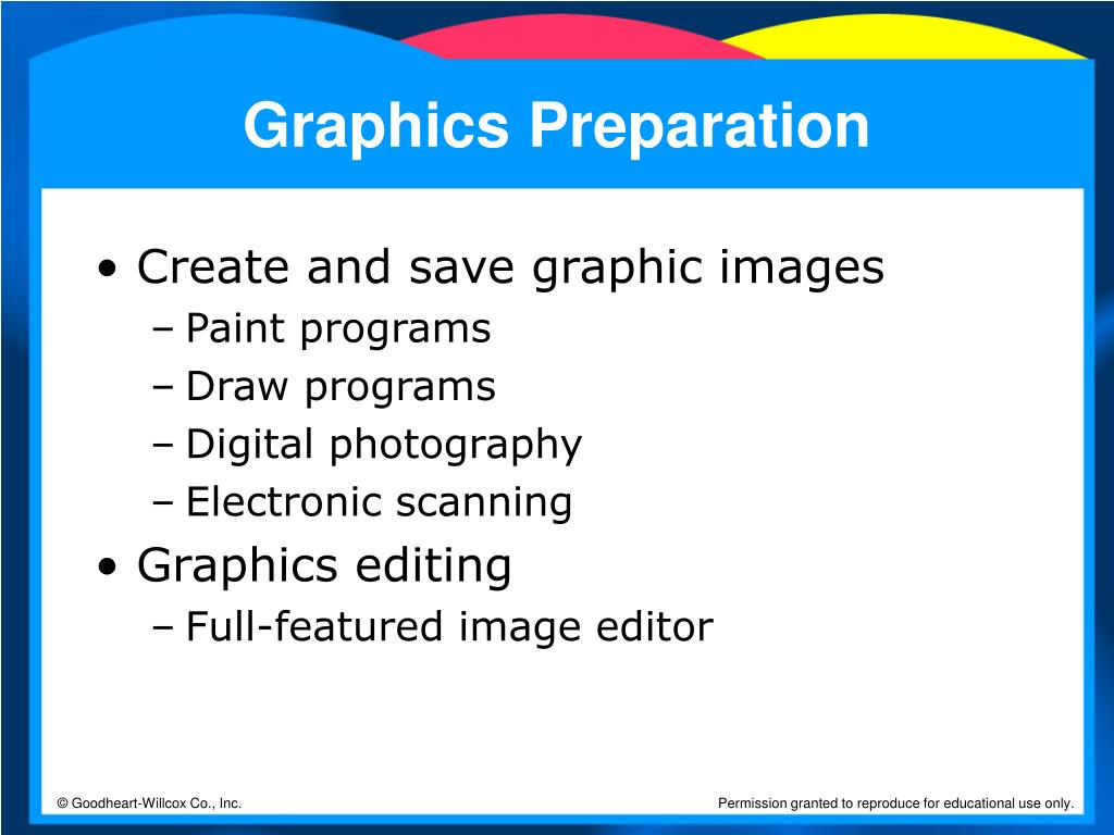 Graphics Preparation