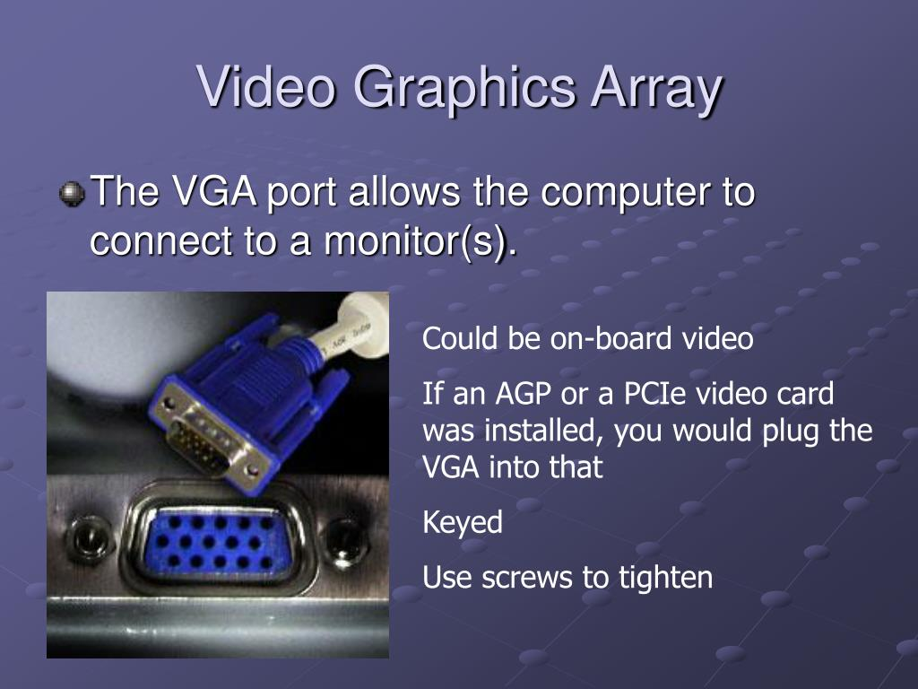 Video Graphics Array