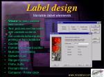 label design6