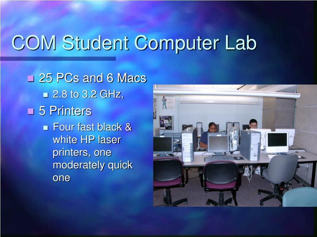 COM Student Computer Lab
