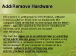 add remove hardware5