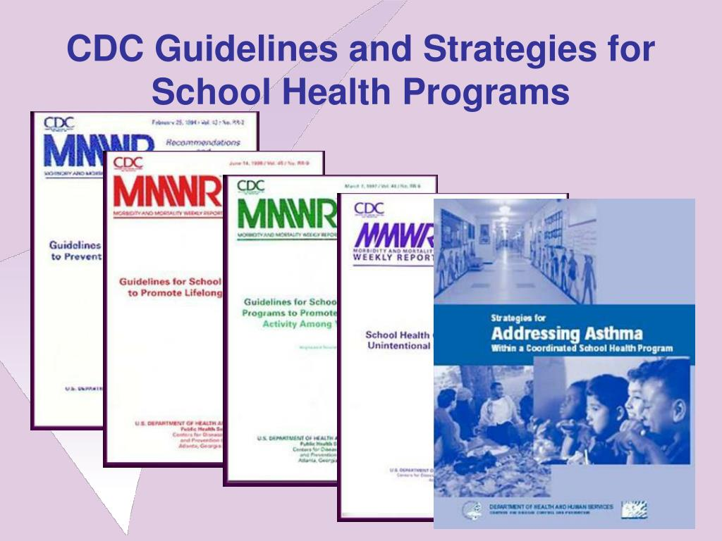 CDC Guidelines and Strategies for