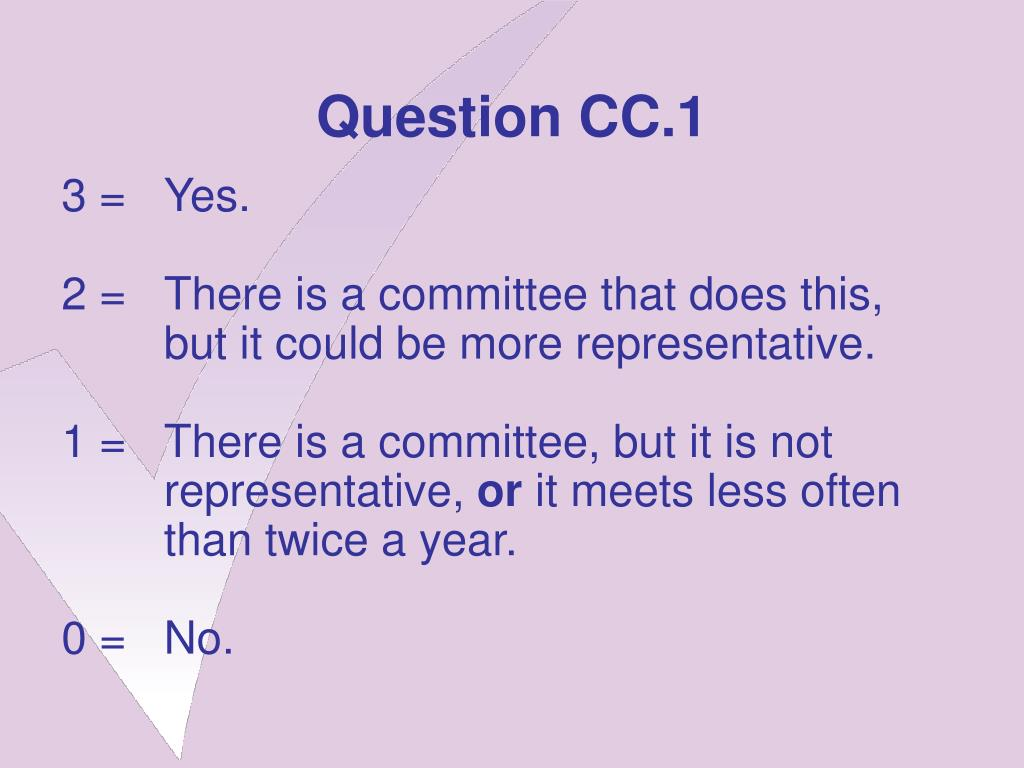 Question CC.1